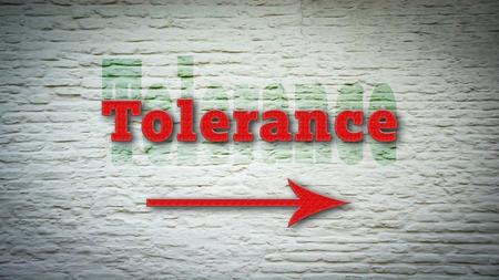 Street Sign to Tolerance