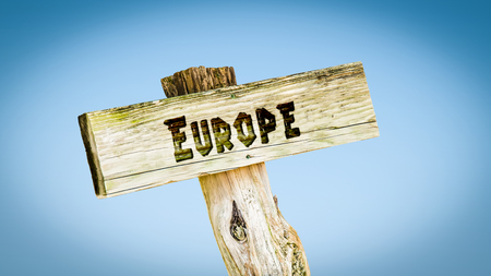 Street Sign to Europe