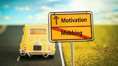 Street Sign Motivation versus Mobbing