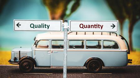 Street Sign Quality versus Quantity