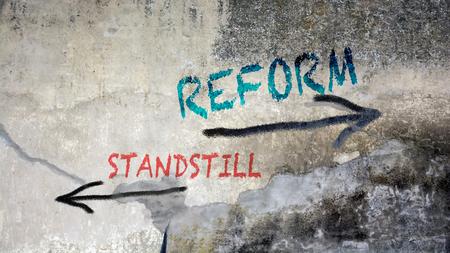 Street Graffiti Reform versus Standstill