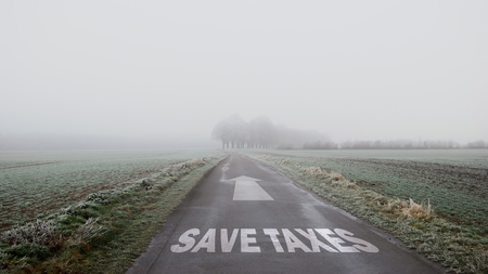 Street Sign Save Taxes