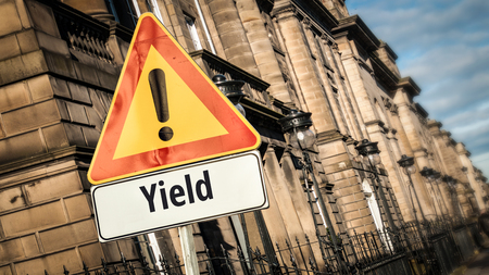 Street Sign to Yield