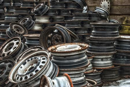 Old Metal on Scrapyard