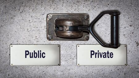 Wall Switch the Direction Way to Private versus Public