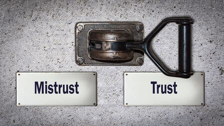 Wall Switch the Direction Way to Trust versus Mistrust