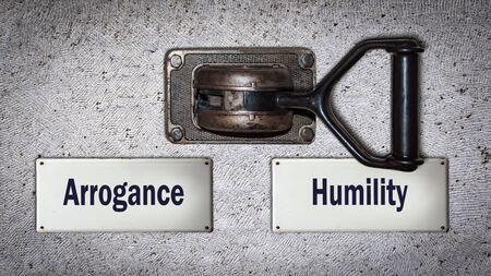 Wall Switch la voie vers l'humilité contre l'arrogance