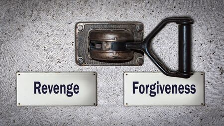Wall Switch the Direction Way to Forgiveness versus Revenge