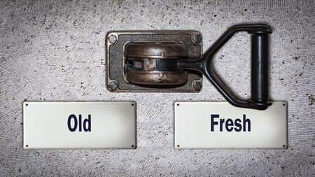 Wall Switch the Direction Way to Fresh versus Old
