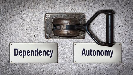 Wall Switch the Direction Way to Autonomy versus Dependency