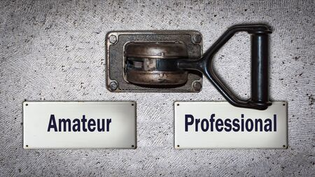 Wall Switch the Direction Way to Professional versus Amateur
