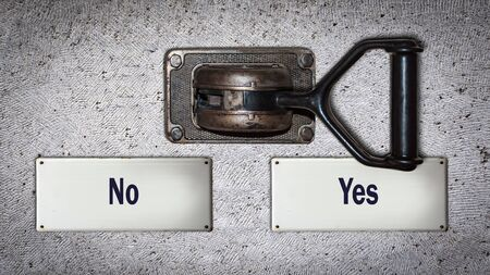 Wall Switch the Direction Way to Yes versus No