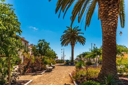 Village of Marseillan in summer, in Hérault in Occitanie, France Stock Photo