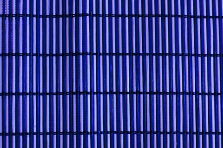 Bamboo mat blue photo