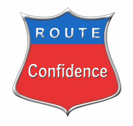 Route Confidence Stock Photo - 11091582
