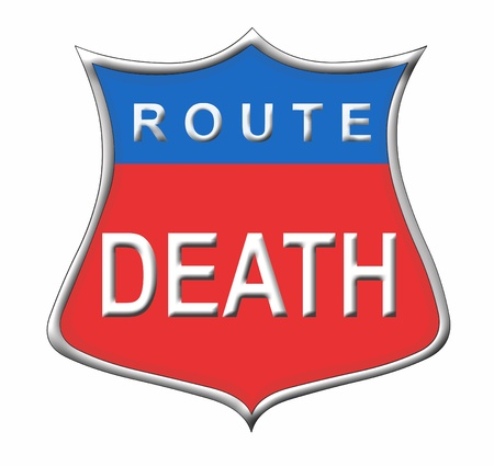 Route Death Stock Photo - 11091578
