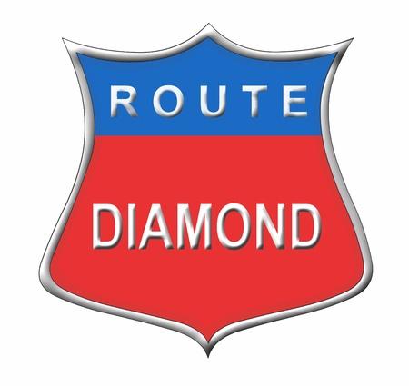 Route Diamond photo