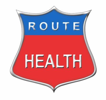 Route Health Stock Photo - 11091557