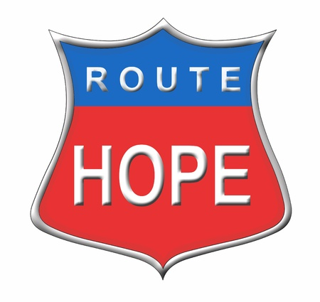 route hope Stock Photo - 11091558