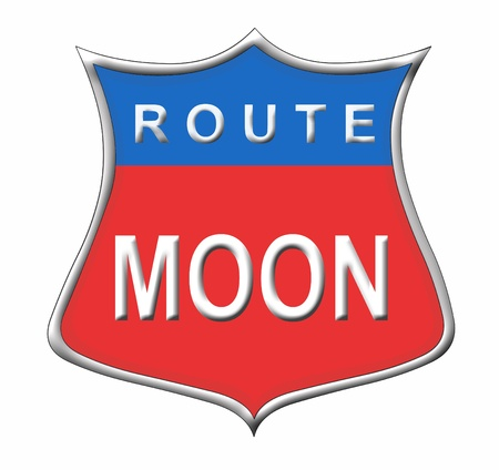 route moon photo
