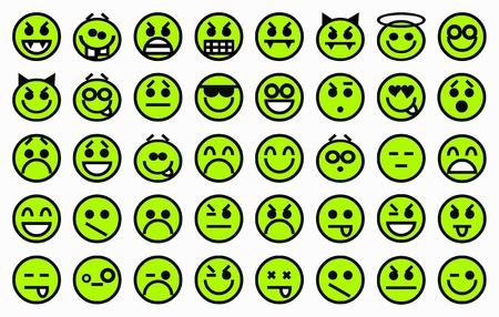 Smileys green