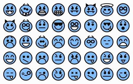 Smileys blue photo