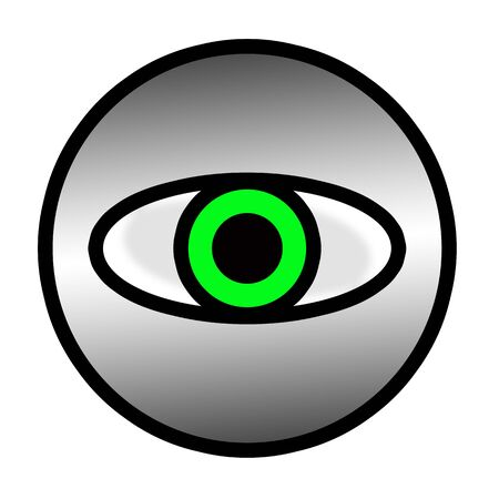 Big Brother is watching you! Green Eye photo