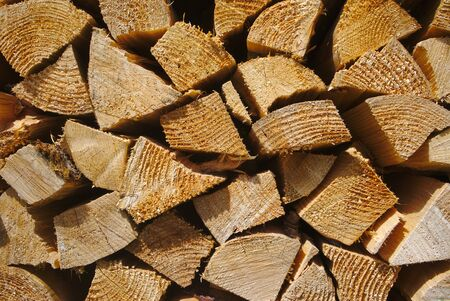 stacked wood logs background