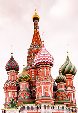 Saint Basils Cathedral, Moscow, Russia. Stock Photo