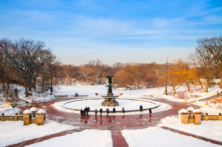 bethesda: Bethesda Fountain at Central Park, New York. Editorial
