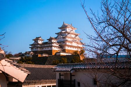 Himeji Castle or White Heron Castle (Shirasagijo) in Himeji city, Hyogo prefecture.