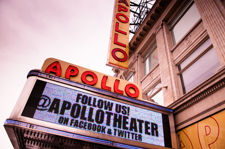 The Apollo Theater is a landmark in Harlem