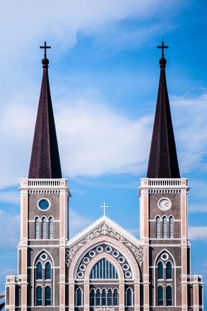 The Catholic Church in Chanthaburi, Thailand.