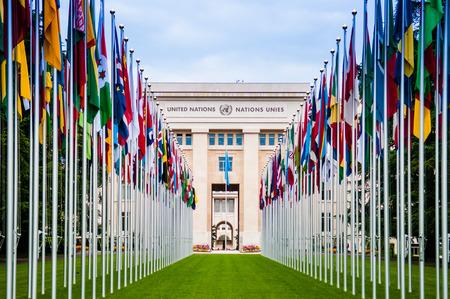 May 8, 2014 - Geneva, Switzerland : The United Nations Office Headquarter in Geneva, Switzerland