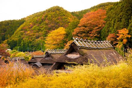 サイコー Iyashi の旧日本茅葺き家屋、山梨県 Nenba