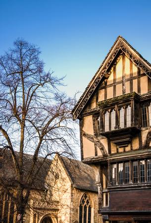 Medieval wooden house in Windsor, Berkshire, UK Editorial