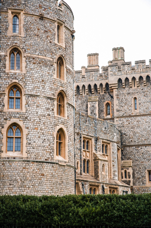MAR 2, 2011 Windsor, UK : Windsor Castle, a royal residence in the English county of Berkshire, was built in year 1066