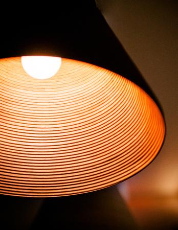 きちんとして、シンプル モダンなデザインの木製ラム クローズ アップ ショット 写真素材