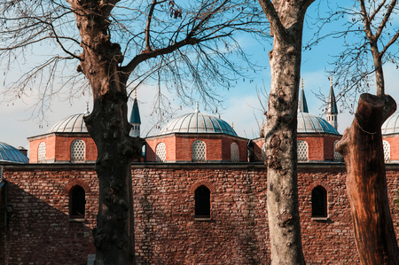 JAN 4, 2018, ISTANBUL, TURKEY : Topkapi Palace. Former residence of the Sultans for 400 years Editorial