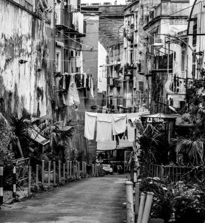 Naples typical scene