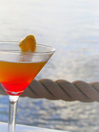Beach Cocktail Stock Photo