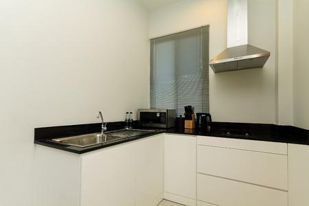hotel kitchen: Hotel Kitchen Stock Photo