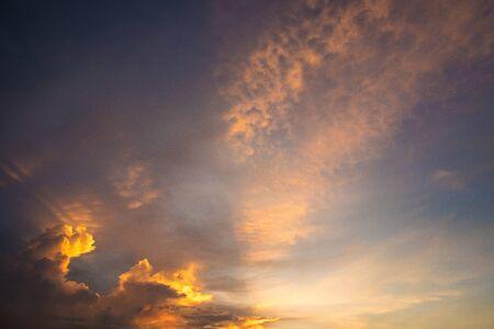 twilight sky. Standard-Bild
