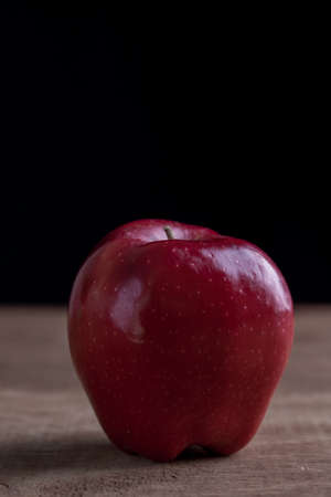 Closed up of red apples
