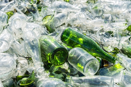 reprocessing: recovery of waste Stock Photo
