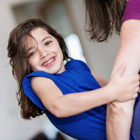 complicity between a very cute little girl and her mother Stock Photo - 23496745