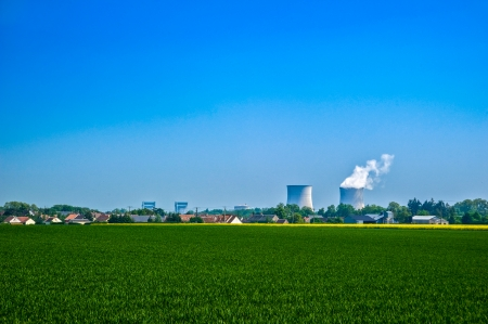npp: A nuclear power plant located in the countryside close to homes