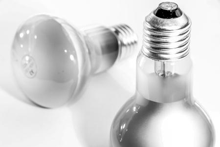 ahorro energia: De energ�a incandescente y fluorescente bombillas de bajo consumo