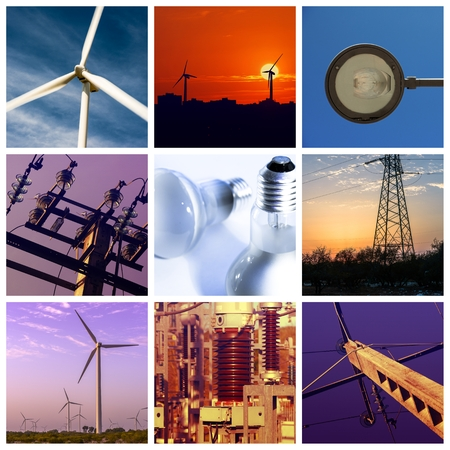Power and energy concepts photo