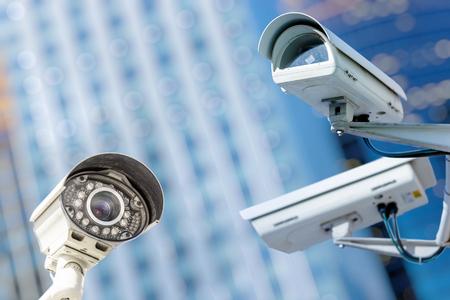 bewakingscamera en stedelijke video